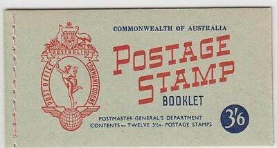 AUSTRALIAN STAMP1953 3/6d BOOKLET  SB 31 IN AS ISSUED CONDITION