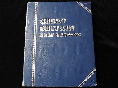 Great Britain Half Crown Set Silver Coin 1920 - 1946  #NLA