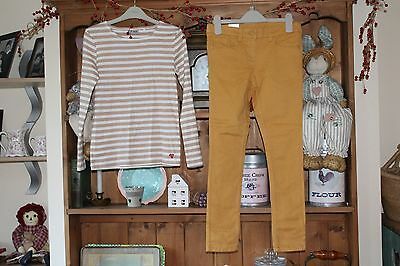 Girls Next Skinny Jeans Trousers And Long Sleeved Top. Age 9 Years. Bnwt