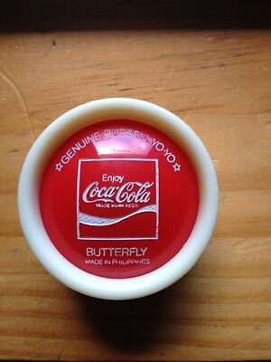 Genuine Russell Coca Cola 76 Butterfly Yo Yo Top Condition
