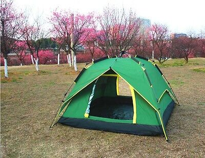 3-4 Persons New POP UP Family Outdoor Waterproof Beach Camping Hiking Tent #