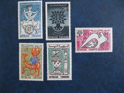 Timbre TUNISIE 501/4 - 506 ** neuf sans charnière luxe