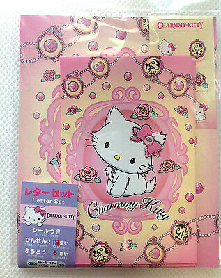 mini letter set  japan CHARMY KITTY writing paper set craft paper SANRIO Kawaii