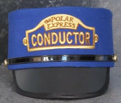 THE POLAR EXPRESS CONDUCTORS HAT, YOUTH SIZE - Excellent Condition L@@K !!