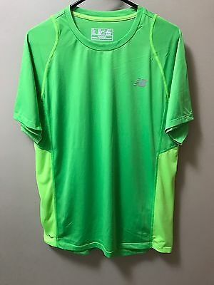 New Balance Dry T-Shirt -  Size L - Lime Green