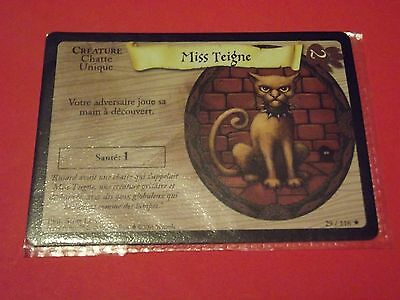 Harry Potter Trading Card Game Tcg Cartes Neuves ** Miss Teigne  29/116**