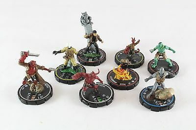 Heroclix Hellboy & BPRD Horrorclix Includes Indy Hellboy 087 Unique