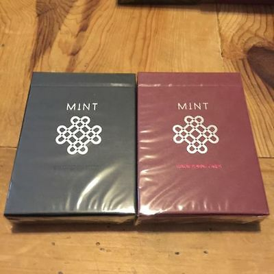 Raspberry Mint Custom Rare Limited Edition Playing Cards - Marked Deck $$$$