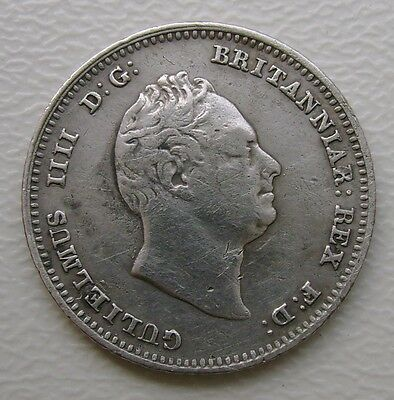 1836 William Iv Fourpence/groat Coin In Good Grade (362)