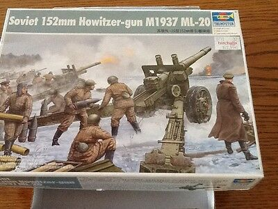 SOVIET 152mm HOWITZER M1937 ML-20 1/35 SCALE KIT by TRUMPETER