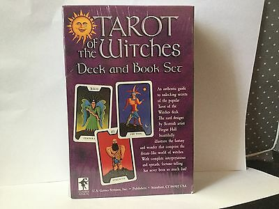 TAROT OF THE WITCHES  Deck And Book Set, Deck by Fergus Hall,  Factory Sealed