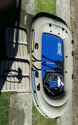 intex excursion 4 inflatable boat