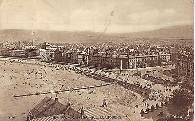 1925 Postcard of Llandudno, View from Camera Hill