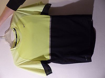 NIKE Dri-Fit jaune fluo. Taille S.