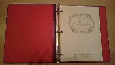 Life and Times of Her Majesty Queen Elizabeth the Queen Mother stamp catalogue