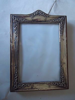 Art Nouveau English Silver Picture-Photo Frame-Chester 1914..Easel Type*******