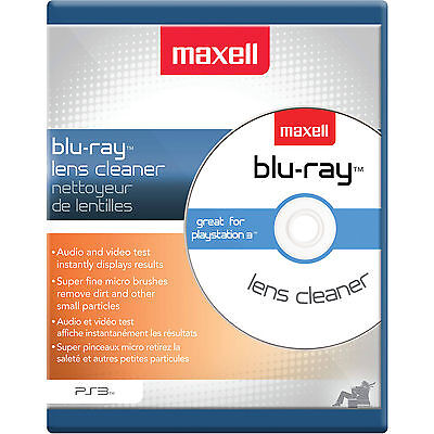 Maxell 190054 Blu-Ray Player HD Lens Cleaner for PS3,PS4, Xbox 360 BluRay