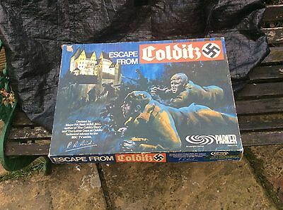 Vintage Game Escape From Colditz
