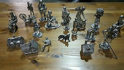 Royal hampshire pewter figures