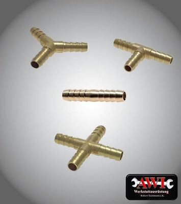 Hose Connector Brass 5mm - 25mm CONNECTOR TUBE VARIOUS MODELS