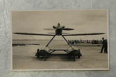 Gloster VI seaplane from the Schneider Cup  - Postcard. Flying Boat