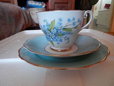 Royal Standard FORGET ME NOT Trio Fine China