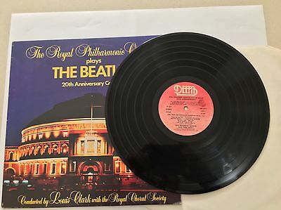 The Royal Philharmonic Orchestra ‎Plays The Beatles 20th Anniversary Concert LP