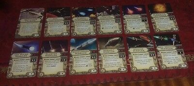 Star Wars X-Wing Miniatures - 12 Awesome Upgrades to Crush Your Opponents! Mint