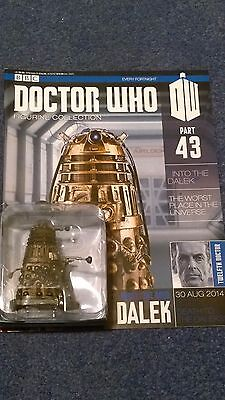 Eaglemoss doctor who figurine collection - Issue 43: RUSTY THE GOOD DALEK