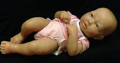 Berenguer Newborn baby girl doll - includes diaper and top