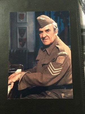 John Le Mesurier Dads Army Vintage Signed Christmas Card