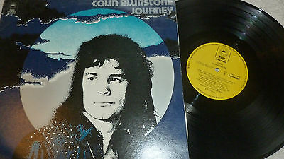 COLIN BLUNSTONE (of The Zombies) Journey LP 1974 EPIC 1974 UK 1ST EX/NM