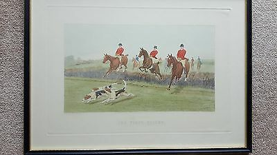 Hunting prints by E.A.S. DOUGLAS