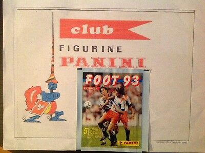 Panini pochette bustina stickers FOOT 93 pack tute sealed top