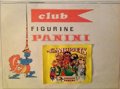 Panini pochette bustina stickers THE MUPPETS pack tute sealed TOP RARE 1979