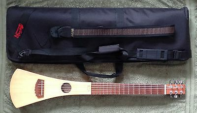 Martin Backpacker Acoustic Travel Guitar + Martin Gigbag & Martin Strap