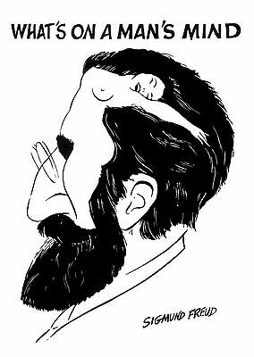 Sigmund Freud: What`s on a Man`s Mind / Poster