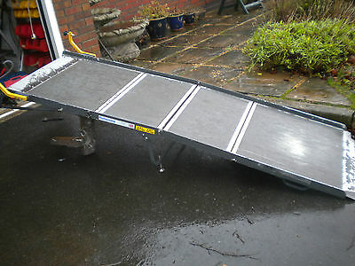 1356 Portaramp Extra Long  Disabled / Wheelchair Scooter ramp Used
