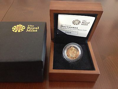2010 Gold Proof Britannia With Certificate And Box 0069
