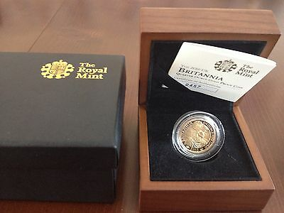 2010 Gold Proof Britannia With Certificate And Box 0457