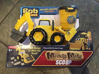 Bob The Builder Mash And Mold Scoop Toy Brand New
