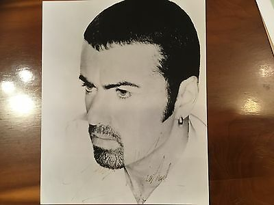 George Michael Signed