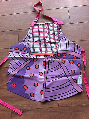 BNWT Miniamo Fluttercup PVC Coated Child's Baking Apron