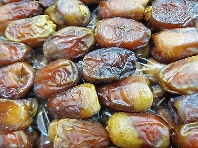 100% Organic Natural Egyptian Dates Semi - Dry Unpressed Medium Size Date  تمر