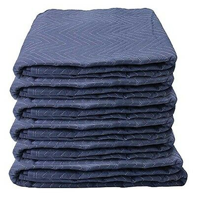 """US Cargo Control Moving Blankets (6-Pack) 72"""" x 80"""" - Econo Saver (21 lbs/6"""