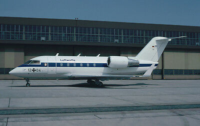 Aircraft Slide KR64, 12+04 CL601 FBS  (sold to Civil)