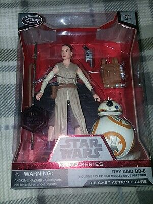 Star Wars 6 inch elite series Rey and BB-8 boxed