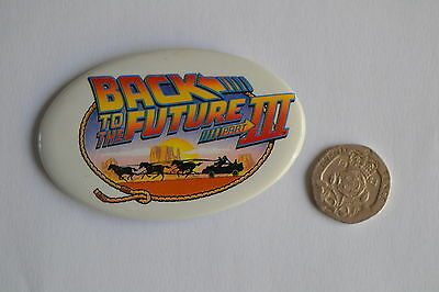 BACK TO THE FUTURE 3 movie film badge