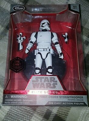 Star Wars 6 inch elite series New Order Stormtrooper  boxed