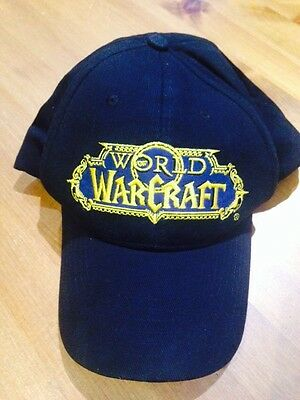World Of Warcraft Baseball Cap With Embroidered Logo New